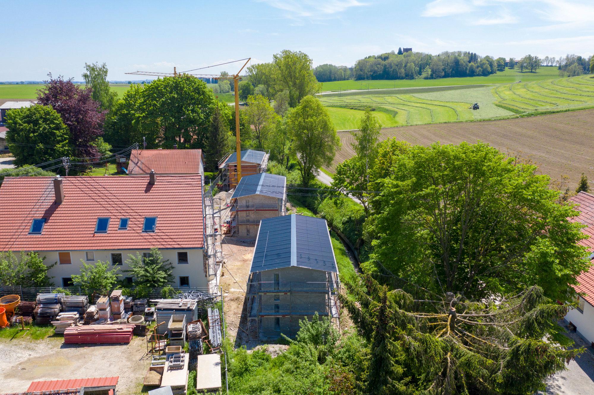 Umbau eines Bauernhofes_Luftbild 5
