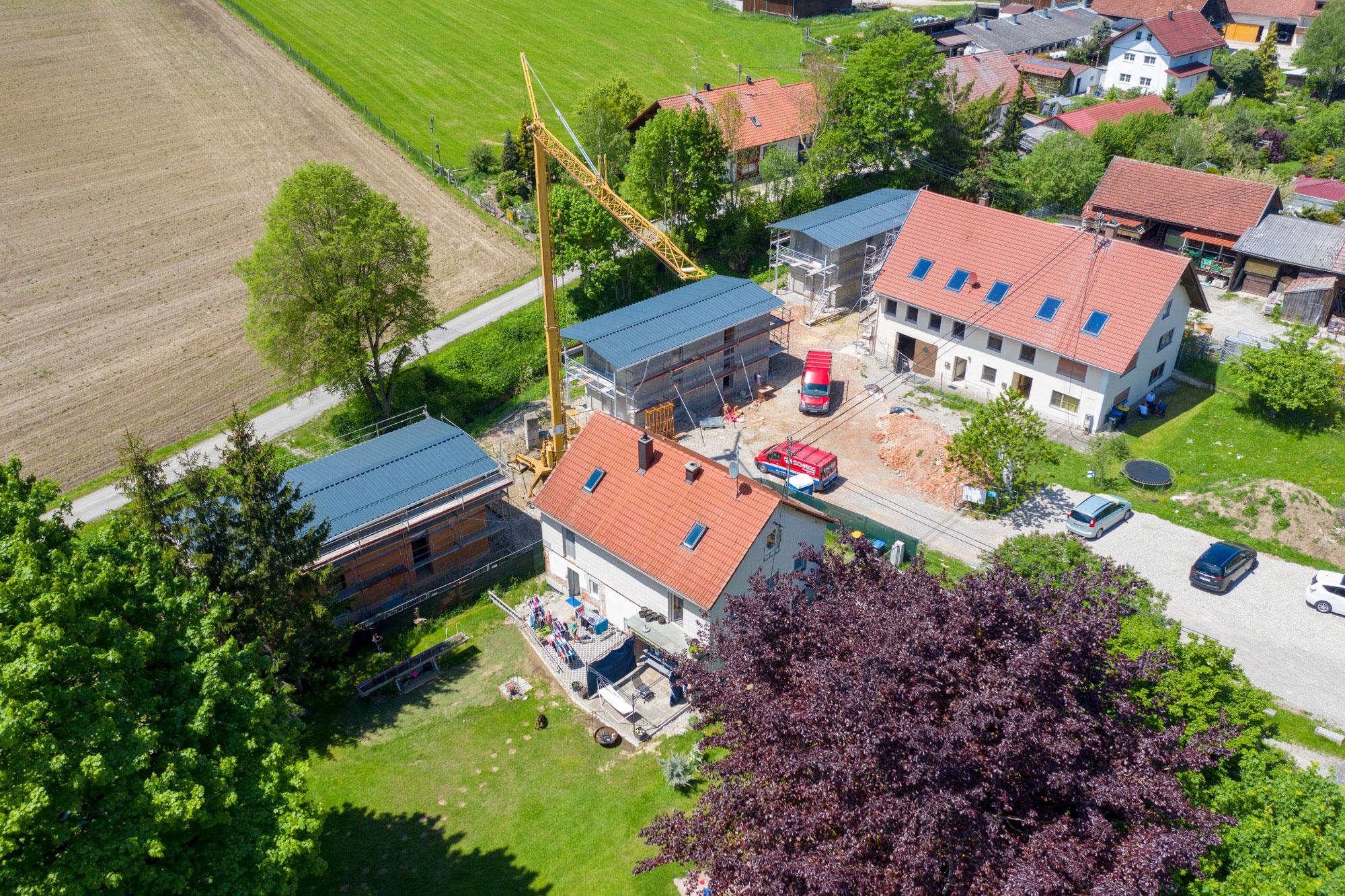 Umbau eines Bauernhofes_Luftbild 4