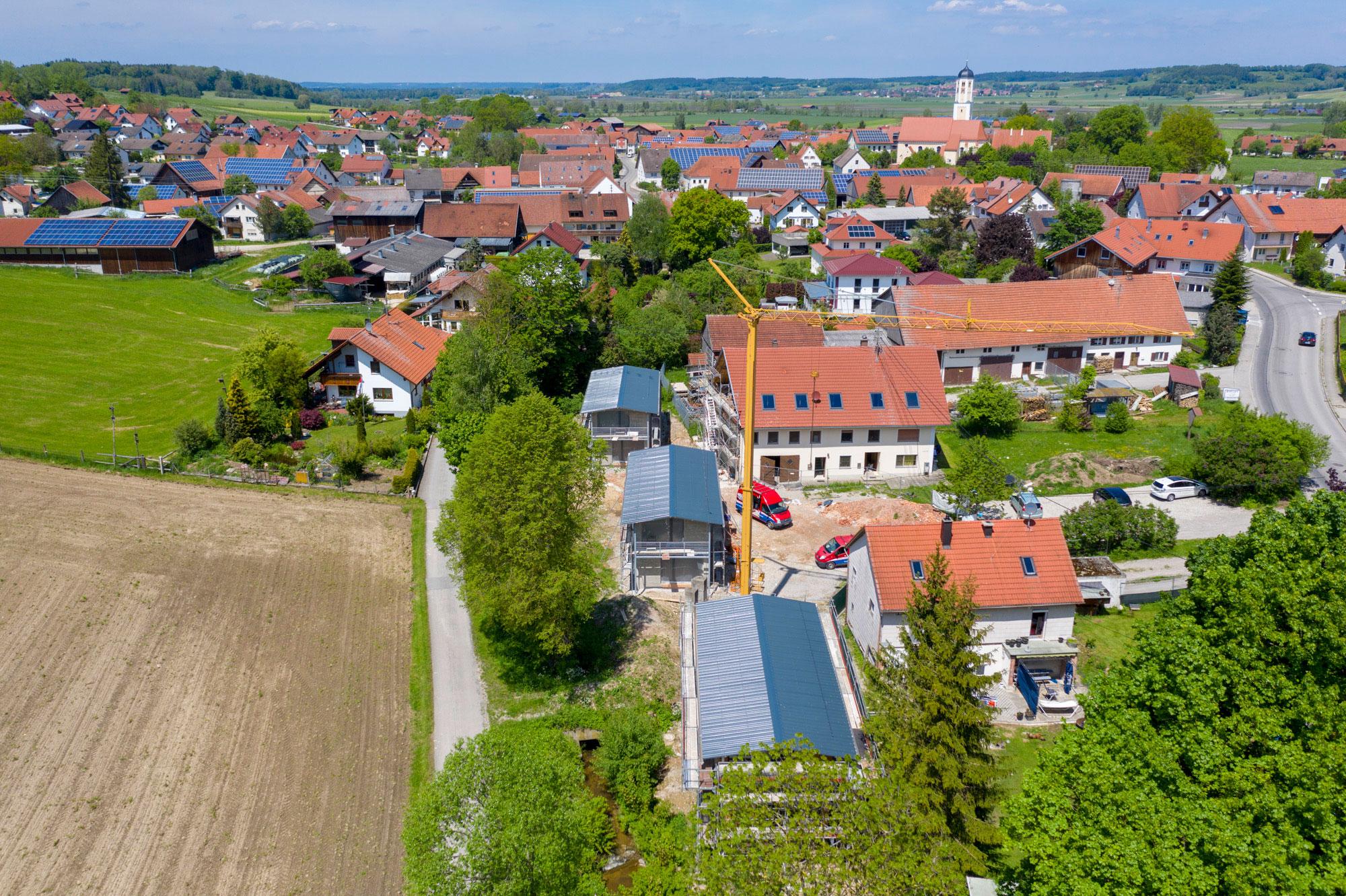 Umbau eines Bauernhofes_Luftbild 3