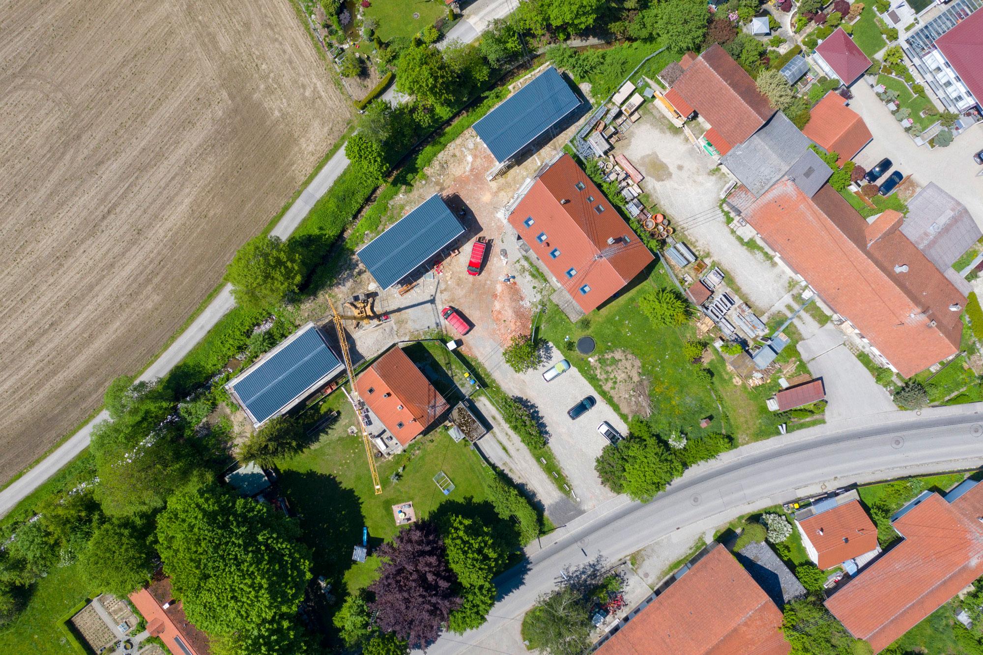 Umbau eines Bauernhofes_Luftbild1