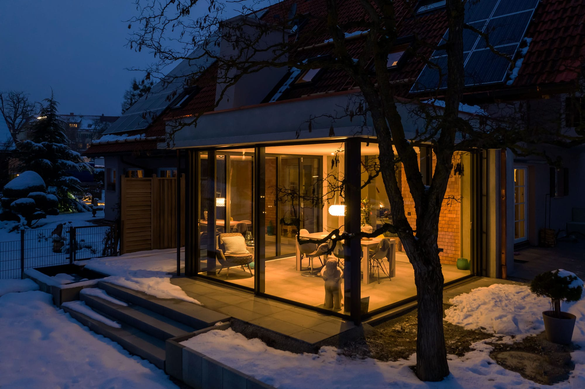 Sichtbeton Wintergarten