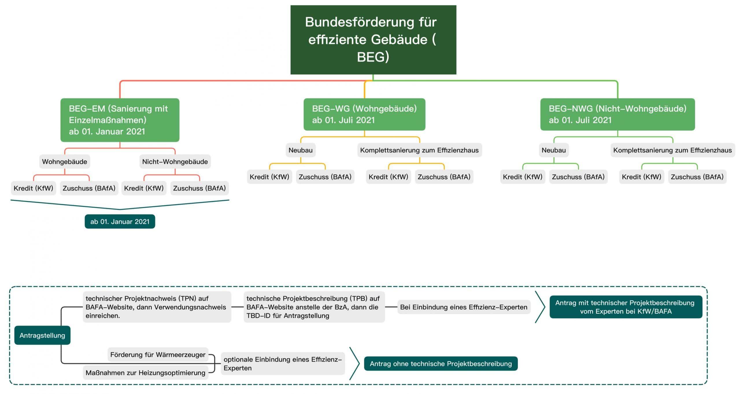 Bundesförderung für effiziente Gebäude_Überblick_Struktur